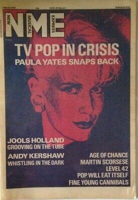 NME New Music Express 7 March 1987