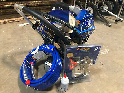 Graco 490 Ultimate PC Pro Stand Electric Airless Sprayer 826199 Pro Connect - B