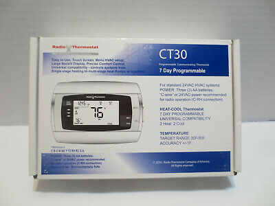 Radio Thermostat CT30 7-Day Programmable Thermostat