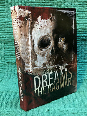 Dreams The Ragman Greg F. Gifune Signed Limited Hardcover Rare #102/150
