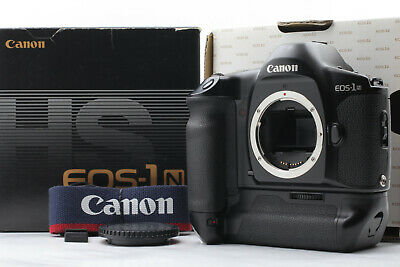 [Mint in Box] Canon EOS-1N HS Booster E1 35mm SLR Film Camera Body JAPAN