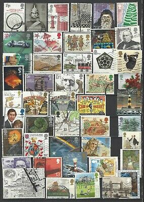 British commemorative stamps mixed super collection all different gb......