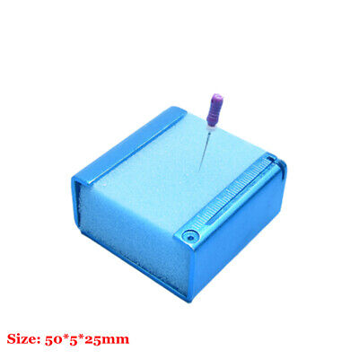 1PC Dental endo files holder Cleaning stand Root canal file frame Foam Sponges