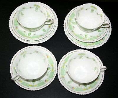 Williamson & Sons Longton Heathcote Bone China Georgian Vintage Tea Set REDUCED