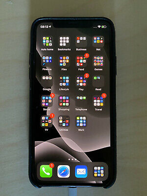 Apple iPhone X - 256GB - Space Grey - A1901