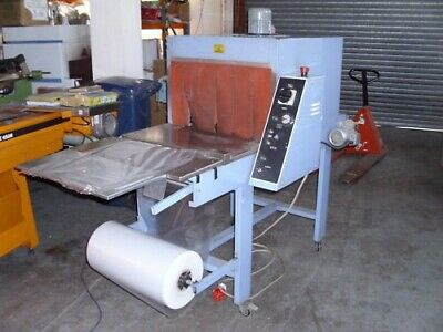 Shrink wrap wrapping tunnel shrink wrapper machine bottles/cans USED £1600+vat