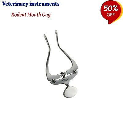Veterinary Instruments Rabbit & Rodent Mouth Gags For Small Animal Mouth Openers