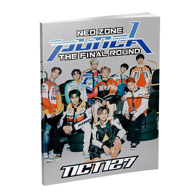 Kpop NCT127 HD Photograph Neo Zone The Final Round Album Photo Book