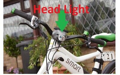 Smart eBike Front LED LIGHT housing Replacement