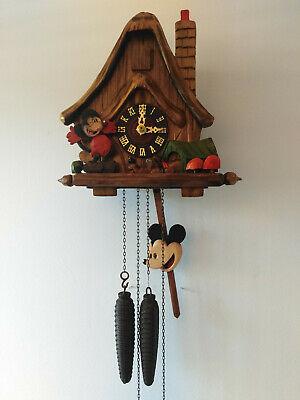 Cuckoo clock. Micky Mouse type.