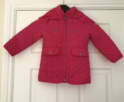 Jasper Conran junior Pink Girls Jacket Age 4/5