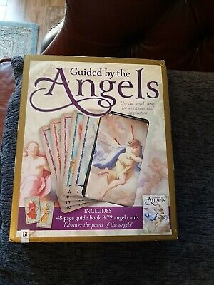 Guided By The Angels: Cards & Book Kit (New)
