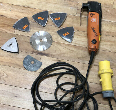 Fein FMM250Q Multimaster Quick Release 110V Very Good Condition