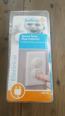 Safety 1st 50 Pack Secure Press Plug Protectors NEW