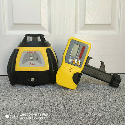 Recon. Leica Rugby 50 Self Levelling Laser Level | Calibrated, 3 Month Warranty