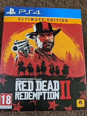 red dead redemption 2 ps4 ultimate edition Steelbook