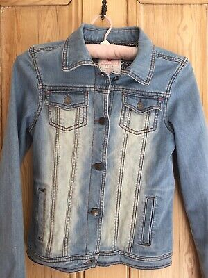 Girls Fat Face Denim Jacket Age 12-13