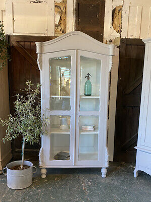 Rustic French Style Display Cabinet Dresser Storage