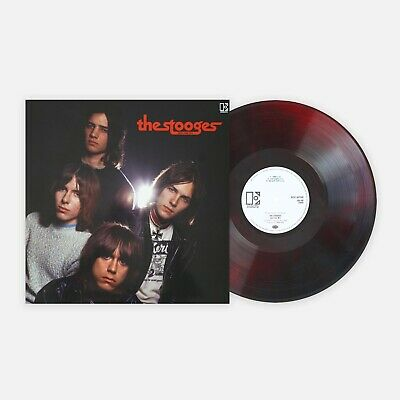 The Stooges John Cale Mix Vinyl Me Please Ltd RED / BLACK MARBLED LP New