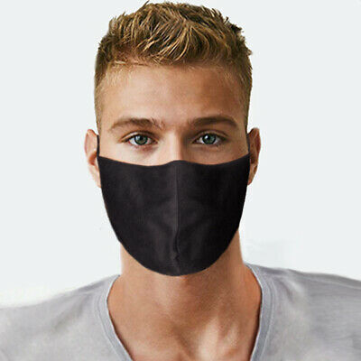 Face Mask Protect Mouth and Nose USA Made Reusable Cotton two Layer Unisex