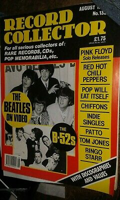 Record Collector Magazine August 1990 No. 132