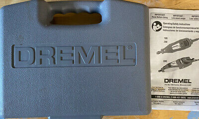dremel 300 Series variable speed rotary tool With Case