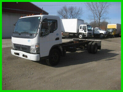 2010 MITSUBISHI FE145 4 CYL TURBO DIESEL AUTO CAB AND Used CAB AND CHASIS