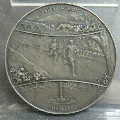 1919 Chateau Thierry to Paris Relay Medal Rare