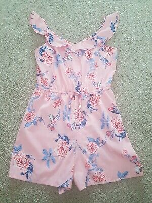 Girls Summer Playsuit Age 9-10 Years