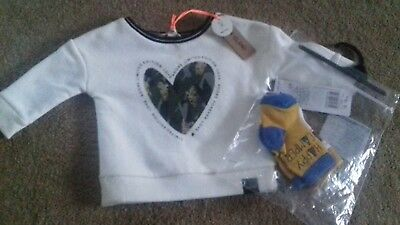 BRAND NEW - BUNDLE OF BABY BOYS CLOTHES - 0-3 MONTH -  RIVER ISLAND - robot box