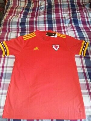 Wales Home Shirt 2020, Xxxl In Size,(3Xl) In Excellent Condition