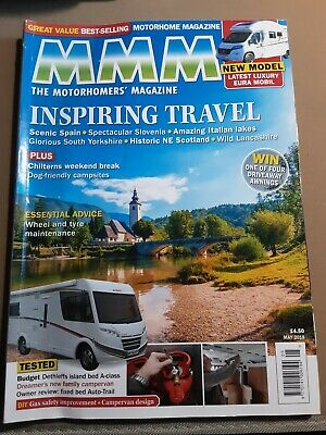 Motorhome Monthly Magazine May 2018 Edition