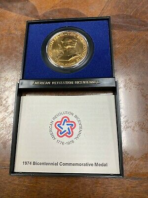 1974 Bicentennial John Adams Proof Medal American Revolution First Congress