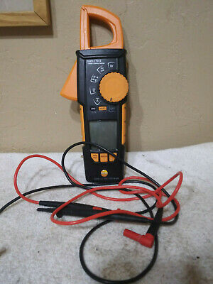 Testo 770-3 Digital clamp meter with Bluetooth.