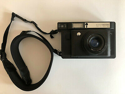 Classic Original Vintage LOMO Instant Wide Camera LOMOGRAPHY Photo FIlm Black