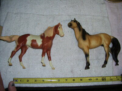 2 Breyer Reeves Great Spirit Mare Chestnut Pinto Horse and Other Breyer Reeves