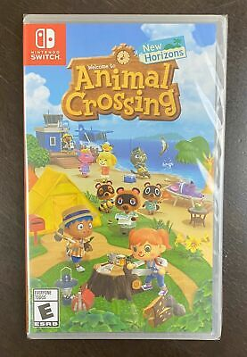 New & Sealed Animal Crossing: New Horizons (Switch, 2020)