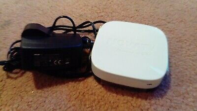 Now TV Box white 2400sk + Genuine original ac power lead plug nowtv..,,. .