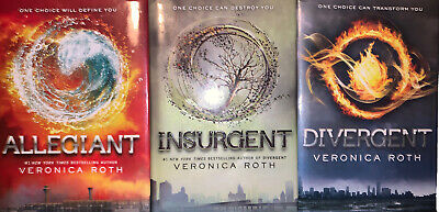 *🌊*3PC Divergent Series By Veronica Roth! Complete Set of first three! EUC*🌊*