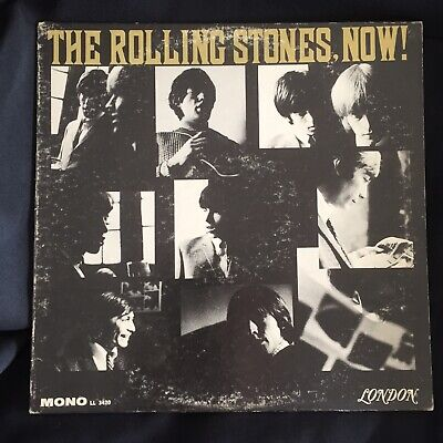 The Rolling Stones, Now! vinyl LONDON MONO LL 3420 1964 DW A-1-A play test VG
