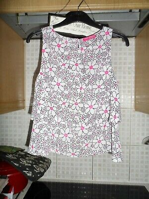 Girls Young Dimension Sleeveless top age 6/7 Years