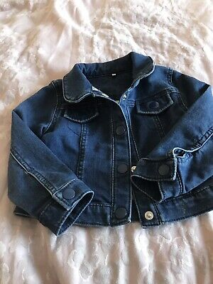 Girls Denim Jacket- Marks And Spencer 18 Months- 2 Years