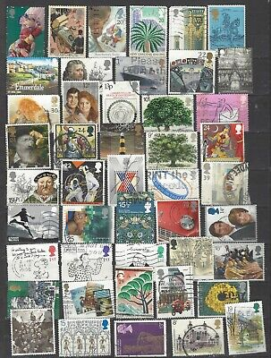 British commemorative stamps a mixed super collection all different gb......
