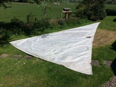 Genoa sail used condition use as back up sail or use as sun shade / canopy