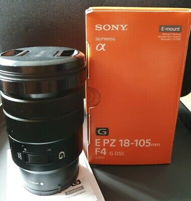 Sony E PZ 18-105 mm f/4 G OSS Standard Zoom Lens for Sony a6300 a6500