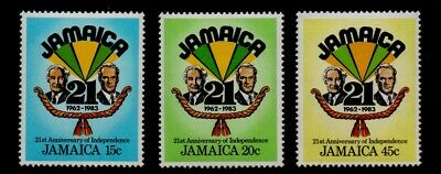 JAMAICA. 25th ANNIVERSARY OF INDEPENDENCE  1983 MNH