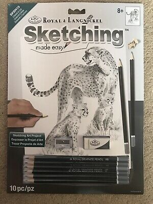 Royal & Langnickel Sketching Made Easy Set