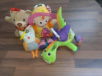 Bundle Lamaze, Vtech And Taftoys Baby Toys