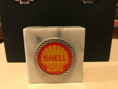 Shell Oil Company paper weight