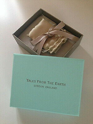 Tales from the Earth Silver Heart Christening Bracelet RRP £58